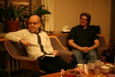 Petri Tamminen Kirjailijan kanssa