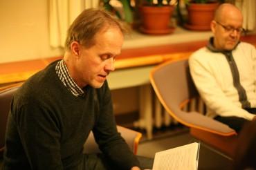 Petri Tamminen Meriromaani Kirjailijan kanssa